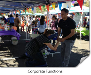 Touch Wellness will help you get and retain visitors at your corporate event.