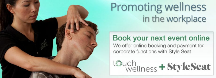 Book Touch Wellness for your coporate events online with Style Seat